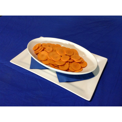 Carrot Sliced 500g