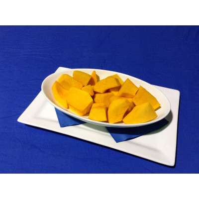 Pumpkin Portions Skin Off 500g