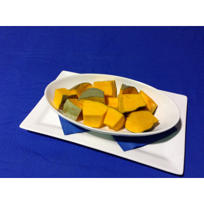Pumpkin Portions Skin On 500g