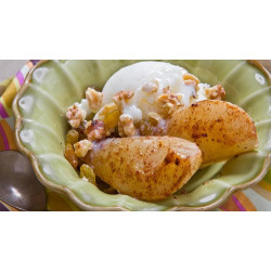 Sauteed Bosc Pears with toasted Walnuts