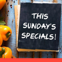 This Sunday's Specials